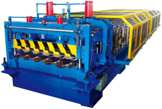 Yx38-194-970 Glazed Tile Roof Forming Machine