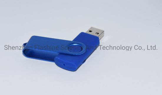 Popular Rotating USB Flash Disk Custom Gift Logo USB Flash Drive Memory Stick pictures & photos
