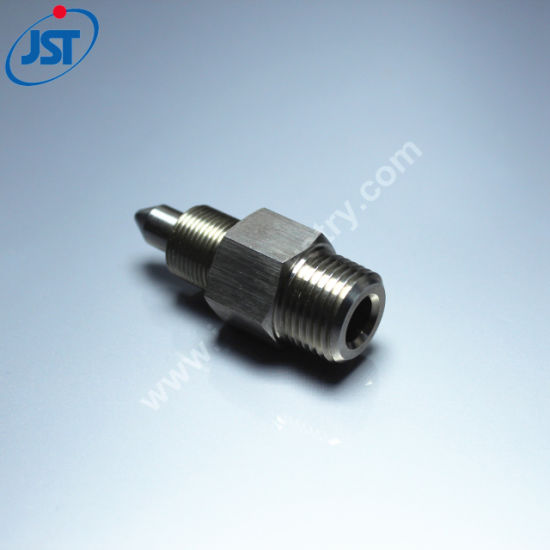 Precision CNC Machining Stainless Steel Bullet Locating Pins with External  Thread for Fixture
