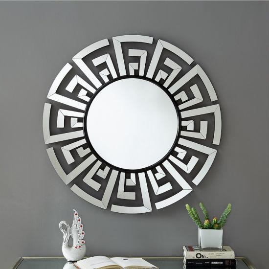 China Modern Decorative Wall Mirrors Art Deco Mirror Large Round