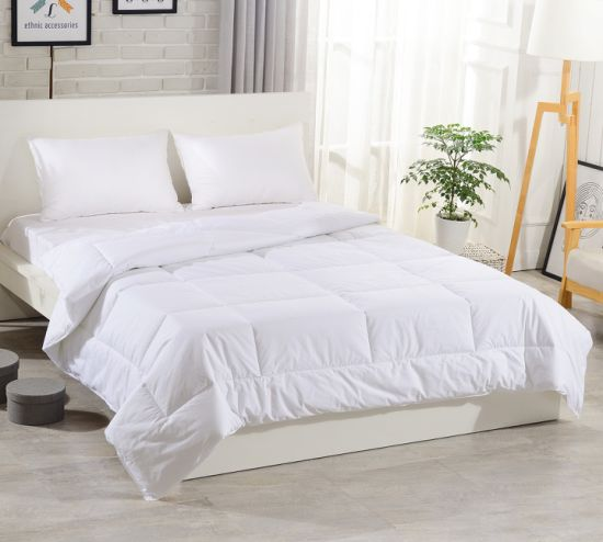 Luxury Goose Down and Feather Duvet Comforter Bedding Quilt (DPF1093)