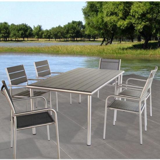 China Aluminum Patio Restaurant Table