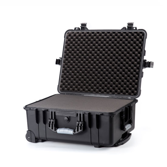 Heavy Duty Hard Plastic Toolbox Storage Protective Box Trolley