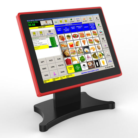 Touch POS Screen Cash Register with Scanner