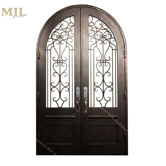 China Double Iron Door Black for Entrance Wholesale Affordable ...