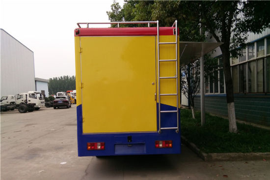China Mobile Food Truck For Fried Chicken Beer Snack Mobile