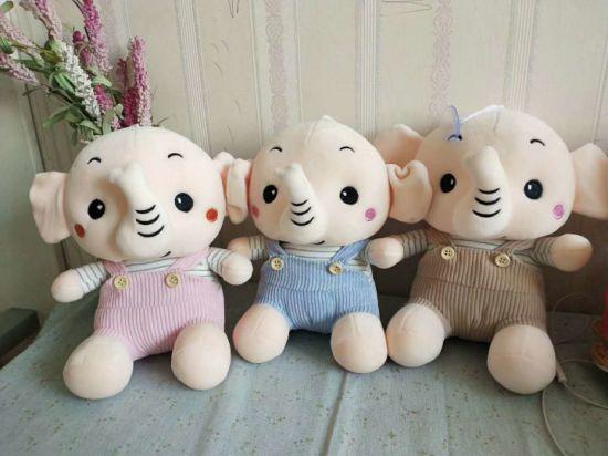 Stuffed Elephant Plush Farm Animal Toy for Children's Soft Toys