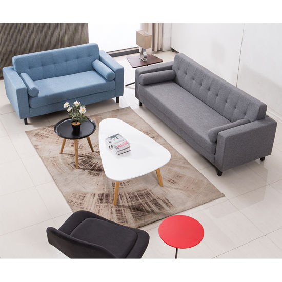 China Simple Design Of Fabric Type Leisure Living Room Sofa China