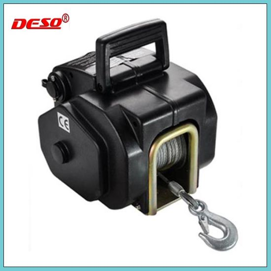 China Mini Electric Windlass Wire Rope Boat Winch for Pulling ...