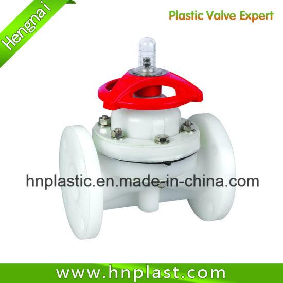 PVDF Diaphragm Valve by ANSI Cl150