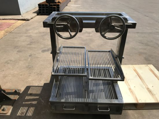 OEM High Quality Custom Commercial Stainless Steel Charcoal Grill BBQ Barbecue Grill