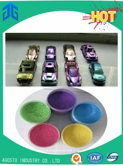 All Purpose Color Shifting Thermochromic Pigment with Good Effect pictures & photos