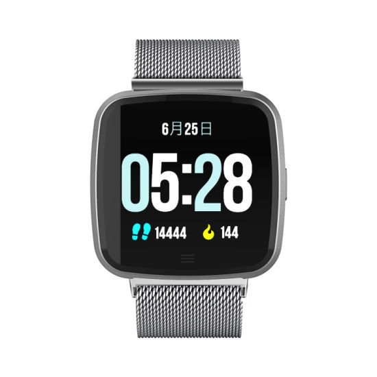G12 Smart Watch 1.3 Inch IPS Screen with Touch Support Heart Rate Phone Call Reminder