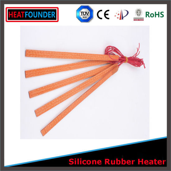 220V 1200W 250*1600 Flexible Silicone Drum Oil Heater pictures & photos