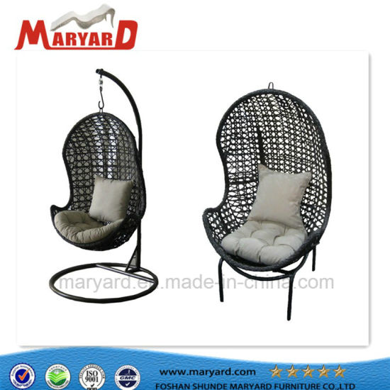 China Popular Modern Outdoor Egg Swing Chair Hanging Garden Chair