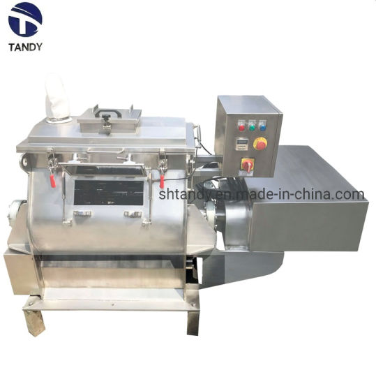 Industrial Sesame Powder Twin Axis Paddle Mixer with Spraying