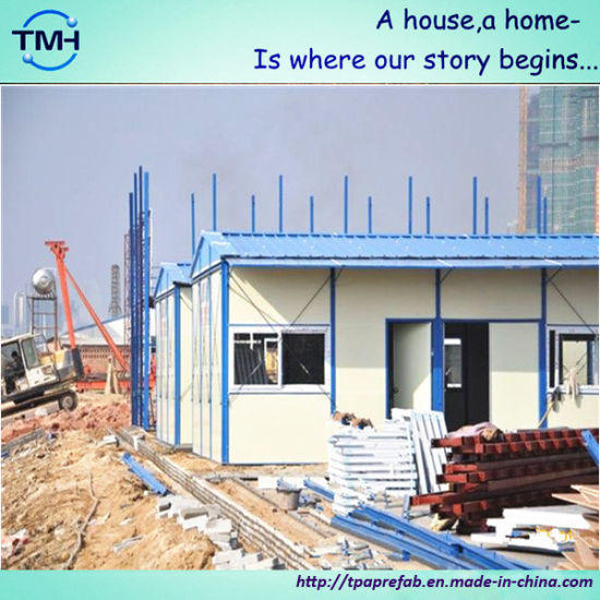 Low Cost Prefab House in Construction Site pictures & photos