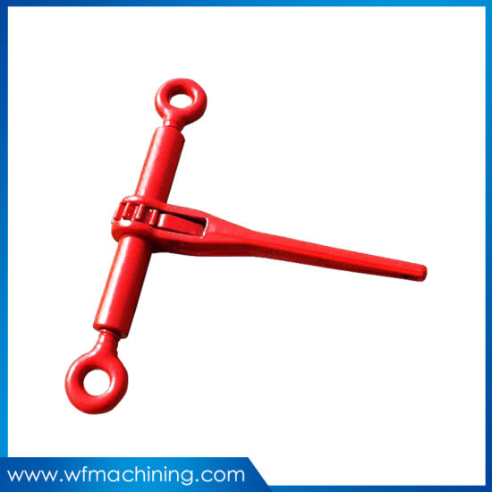 High Strength Hand Operate Ratchet Cable Puller Machine Wire Rope Tightener