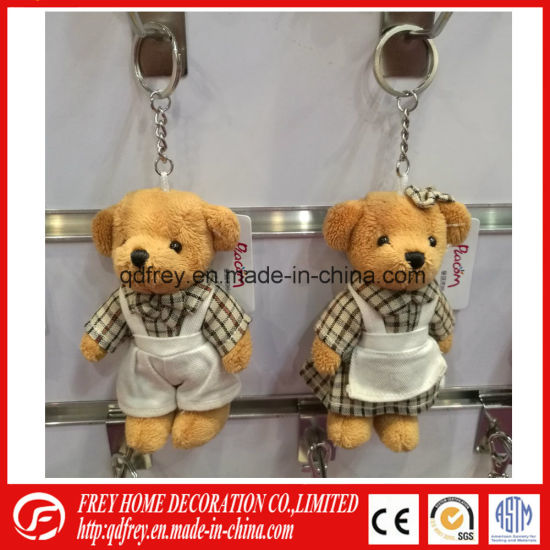 Promotional Gift of Teddy Bear Keychain Toy pictures & photos