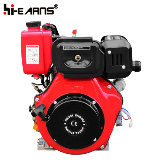 12HP Diesel Engine Electric Start Red Color (HR188FAE) pictures & photos
