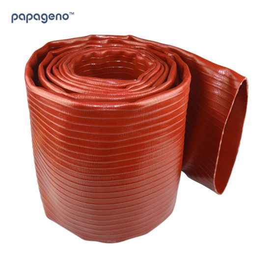 Heavy Duty 10 Bar/145psi PVC Lay Flat Irrigation Discharge Hose Pipe