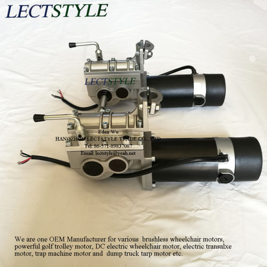 24V 250W Brushed Left & Right Wheelchair Motors pictures & photos