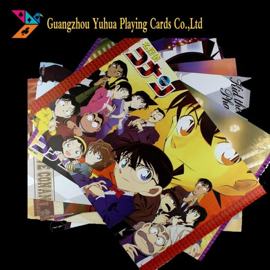 OEM Anime Birthday Cards Game Merchandise For Promotion