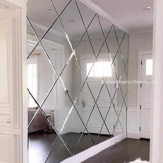 China Wall Decorative Glass Mirror, Glass Mirror Wall Tiles