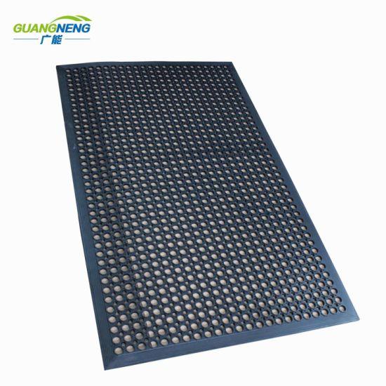 China Drainage Rubber Mat Anti Slip Restaurant Kitchen Mats Anti Fatigue Mat China Anti Fatigue Mat Anti Slip Rubber Mat