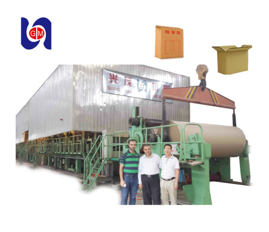 China Corrugating Paper Machine 2400 mm Kraft Paper Machinery