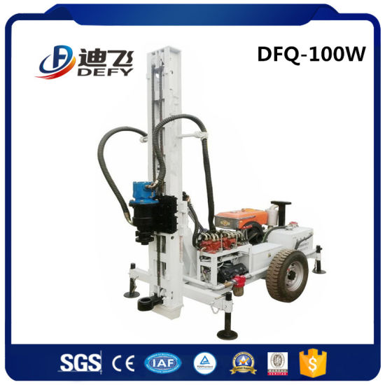 New Trailer Mounted Geotechnical Drilling Rig Portable