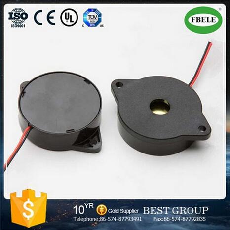 ABS Loud Piezo Sound Buzzer 12V with Lead Wire