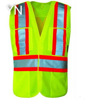 High Visibility Safety Vest for Worker