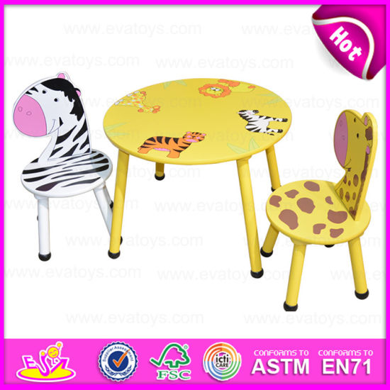 China 2015 Round Table And Chair For Kids Animal Design Children - Animal-chairs-for-children