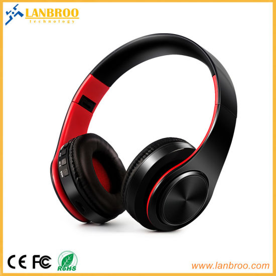 Stereo Wireless Bluetooth Headphone for Computer/iPhone/TV/Music Support Microsd TF Card pictures & photos