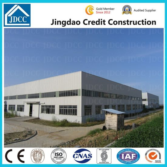 Jdcc Brand Hot Sale Multi-Storey Light Steel Structure Warehouse pictures & photos