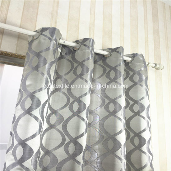 New Type of Polyester Bright Curtain pictures & photos