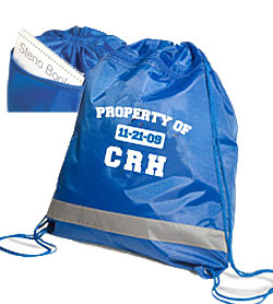 Polyester Gym Drawstrings Bag with Customer Logo pictures & photos