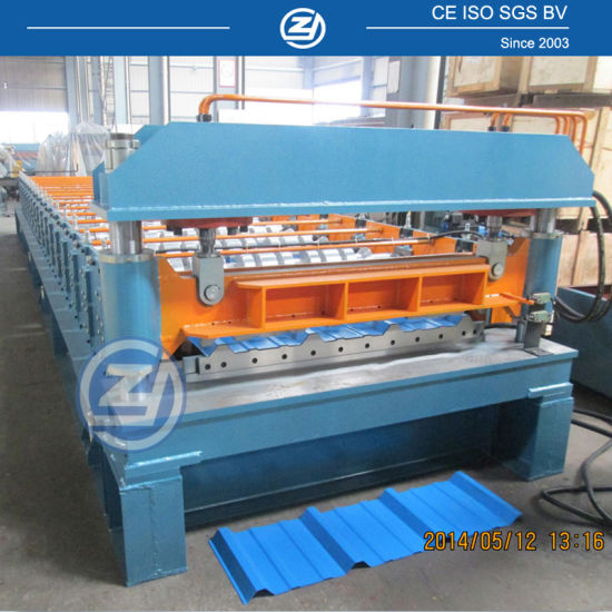 PLC Touch Control Metal Roll Forming Machine pictures & photos