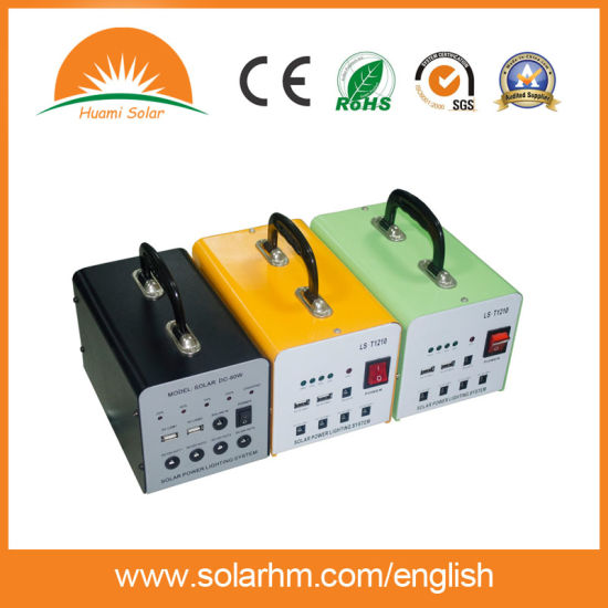 (HM-209) China Factory 20W9ah Mini Solar System with Mono Solar Panel pictures & photos