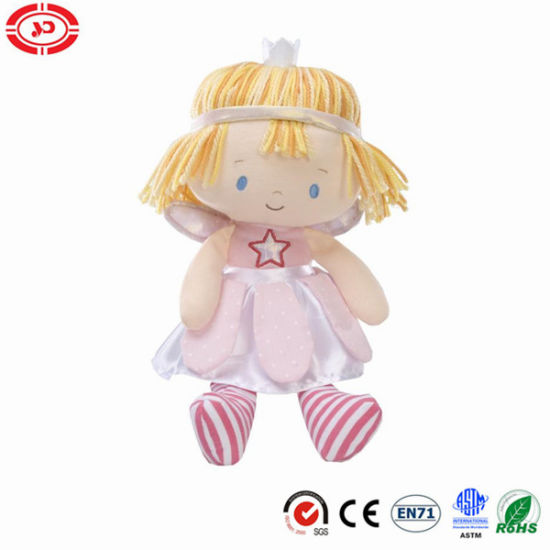 Fairy Doll with a Smiling Face Plush Stuffed CE Toy pictures & photos