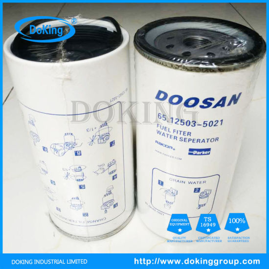 China Doosan Fuel Filter 65.12503-5021 with High Quality and Best Price -  China Auto Parts, Cartridge FilterDOKING INDUSTRIAL LIMITED