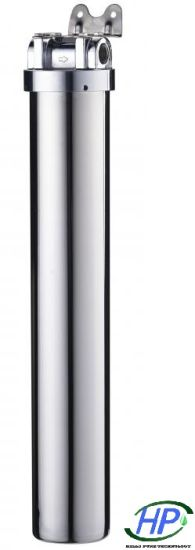"""Stainless Steel Filter Housing (20"""") for RO Water Purification"""