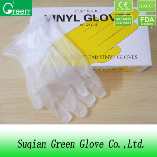 Vinyl Gloves Food Grade 9inch Aql1.5/2.5/4.0