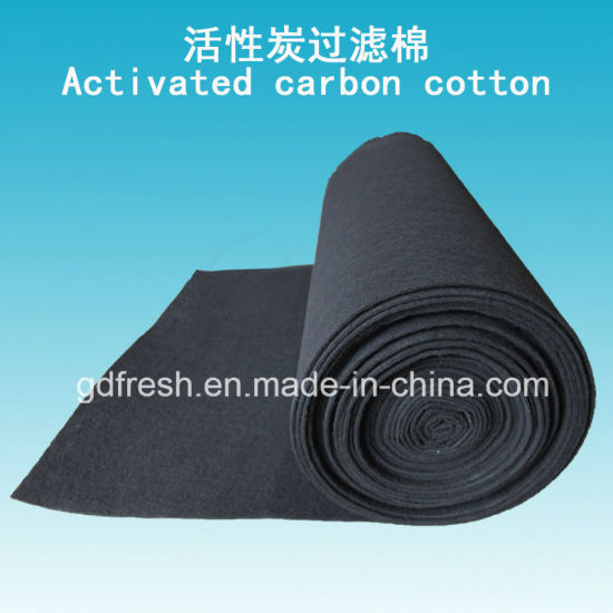 Activated Carbon Filter Media for Gas Absorption pictures & photos