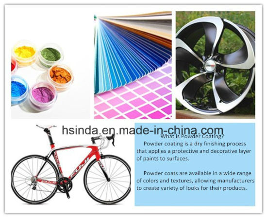 Factory Eco Friendly Salt Spray Resistance Pantone Color Powder Coating pictures & photos