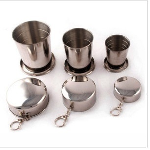 Stainless Steel Expandable Cup with 3 Sections pictures & photos