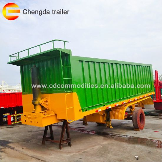 China Hot Sale 3 Axles Rear Tipper Widely Used U Haul Car