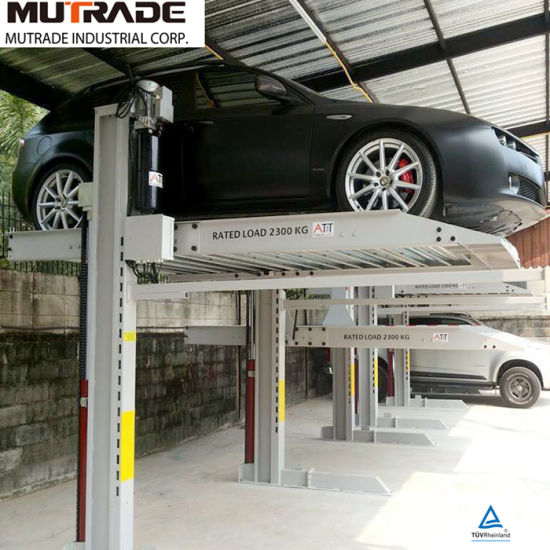 Mutrade 2 Post Movable Garage Car Parking System