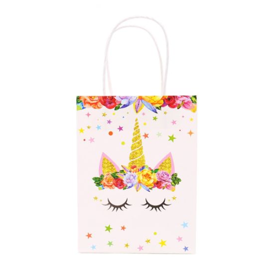 b6cedb8936 Customize Cute Snowman Pattern Logo Printed Recyclable Paper Gift Bags with  High Quality Printing